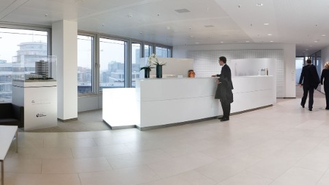 Picture 6: Reception area of an office within EMPORIO Tower.